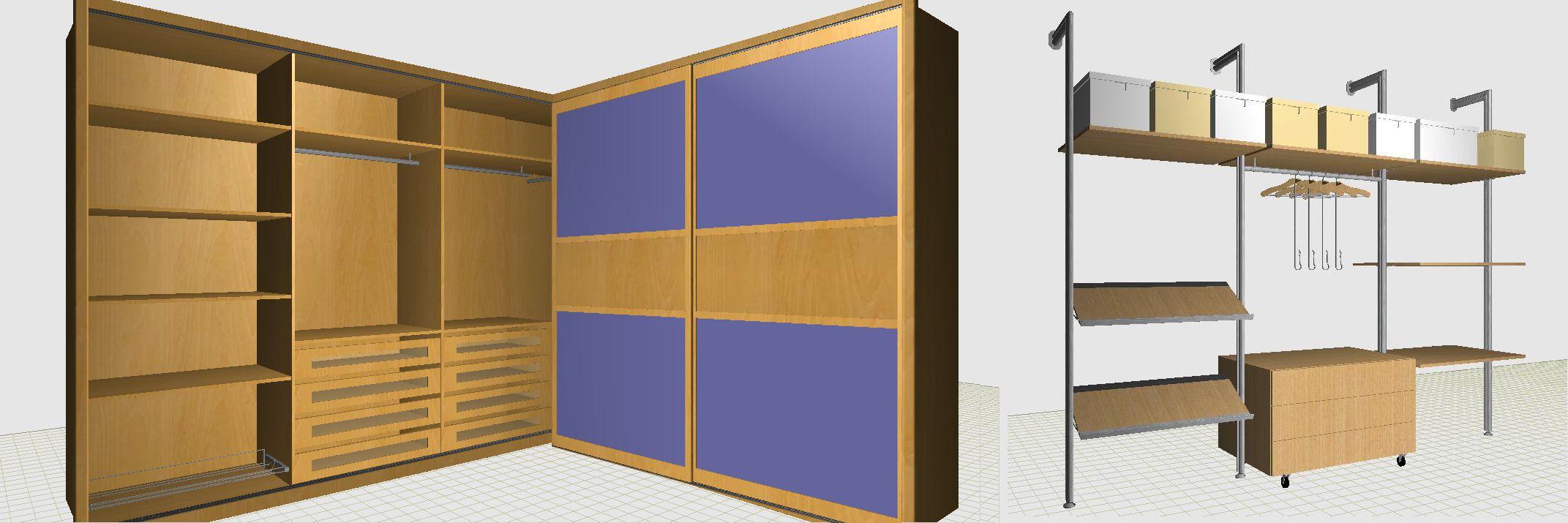 Autoclosets productos caracter sticas de autoclosets Diseno de interiores 3d data becker windows 7